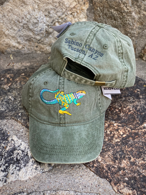 Hat: Collared Lizard