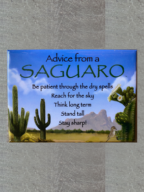 Magnet: Advice From a Saguaro