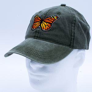 Hat: Monarch Butterfly
