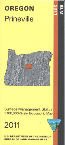 Map: Prineville OR - OR050S