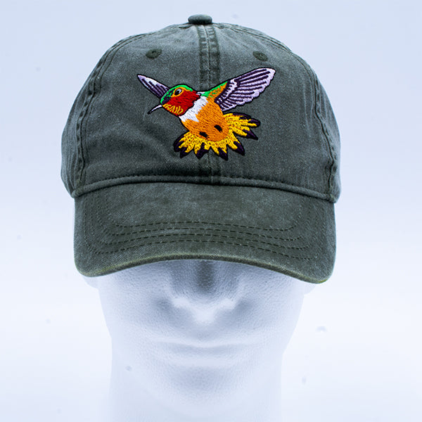 Hat: Rufous Hummingbird