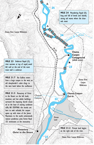 Rio Chama River Guide Map PDF