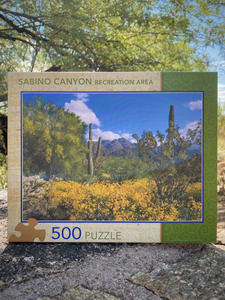Puzzle: Sabino Canyon 500 pieces
