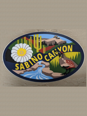 Sticker: Sabino Canyon