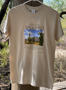 T-shirt: Advice from a Saguaro
