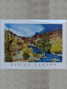 Boxed Notecards: Sabino Canyon by Virginia Moyer
