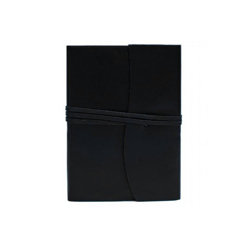 Belcraft Amalfi Medium Black Leather Journal