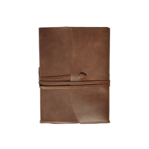 Belcraft Amalfi Small Chocolate Leather Journal