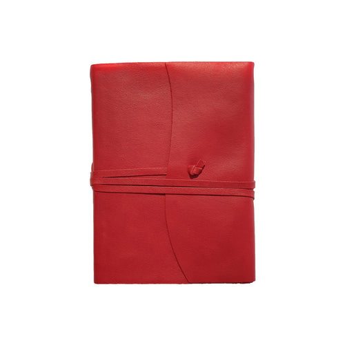 Belcraft Amalfi Small Red Leather Journal