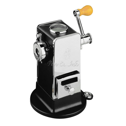 El Casco Chrome & Black Pencil Sharpener