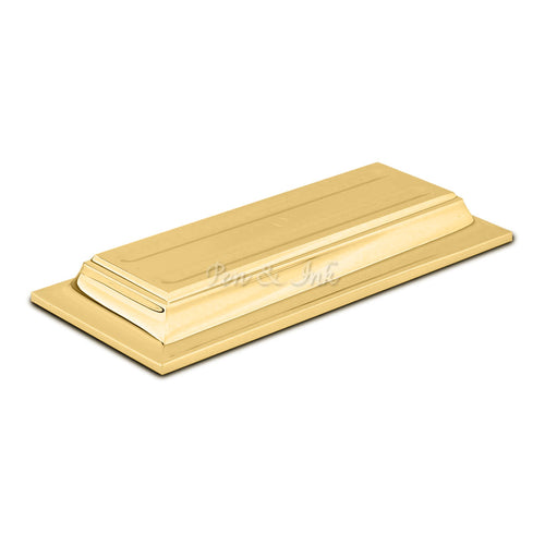 El Casco 23k Gold-Plated Horizontal Double Pen Holder