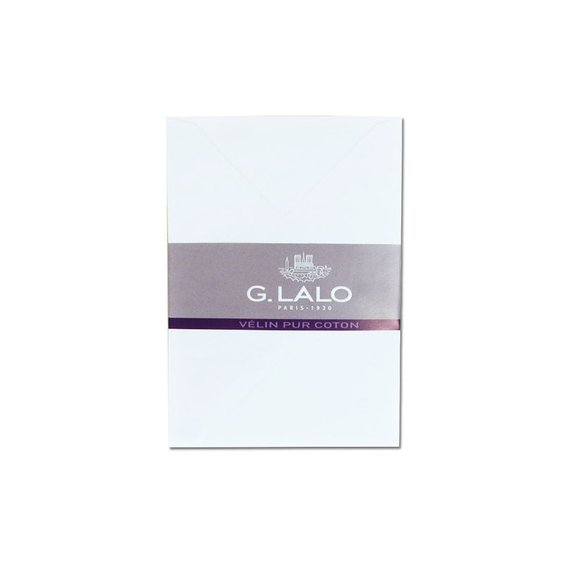 G.Lalo Velin Pure Cotton C6 Envelopes