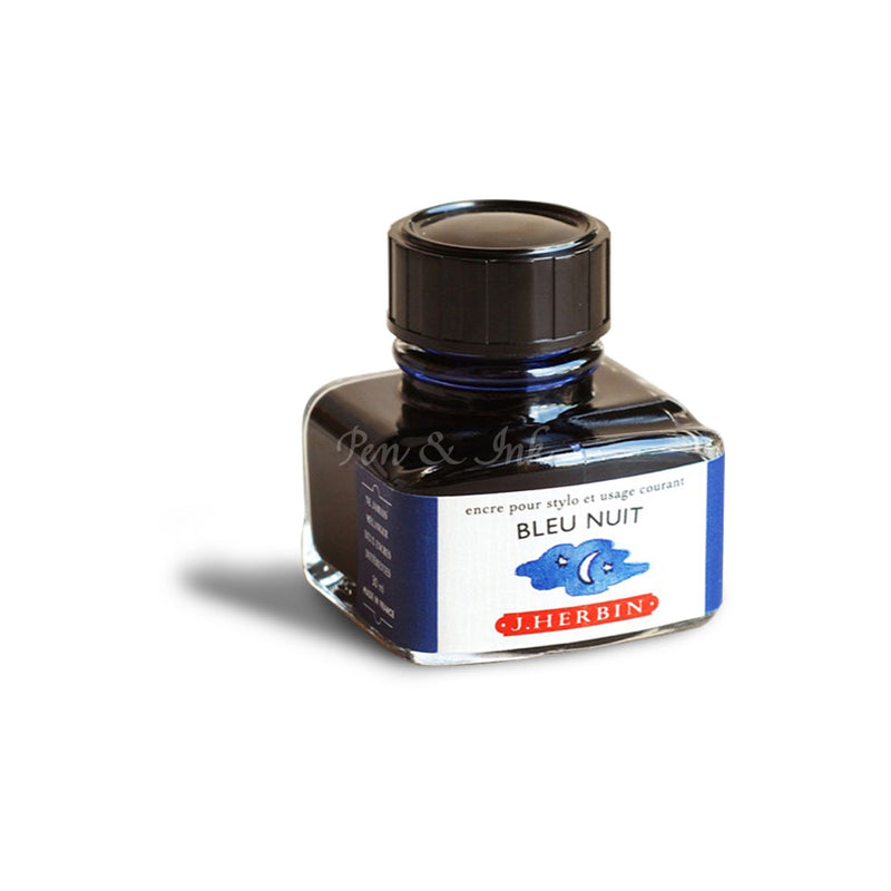 J. Herbin Bottled Ink Bleu Nuit