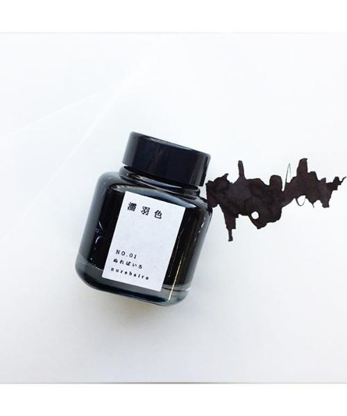 Kyo no Oto No. 01 Nurebairo Bottled Ink