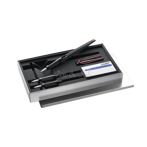 LAMY Joy Gloss Black Calligraphy Pen Set