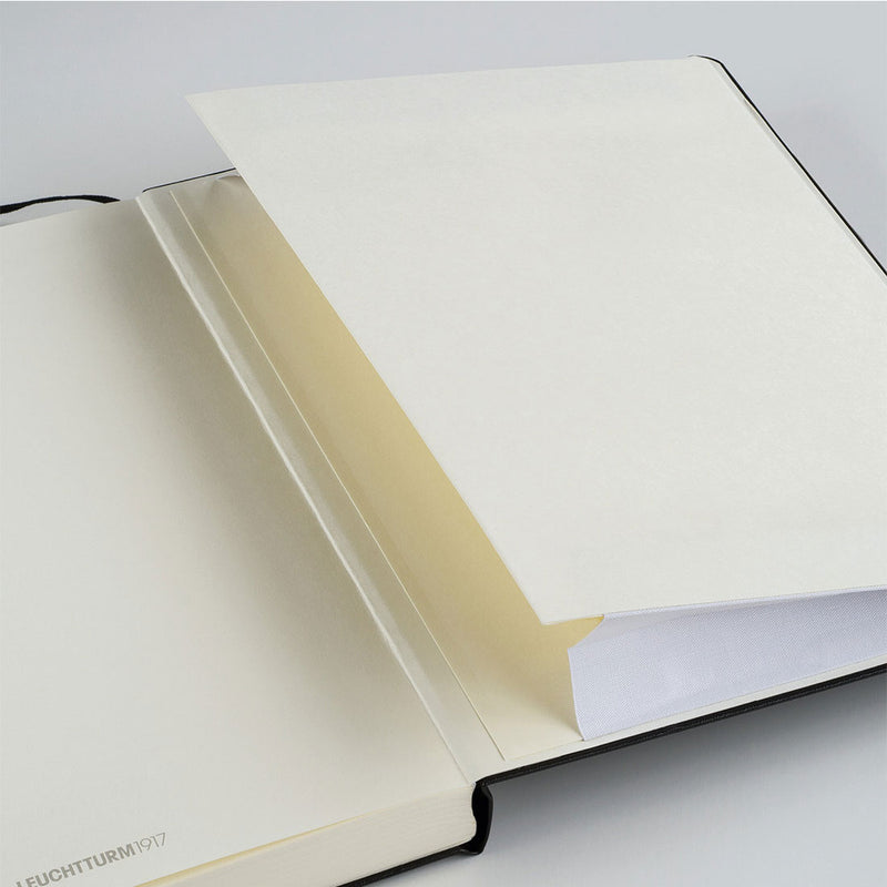 Leuchtturm A5 Hard Cover Gusseted Pocket
