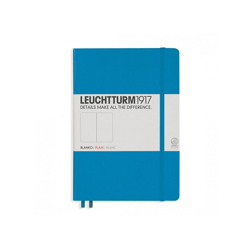 Leuchtturm A5 Hard Cover Plain Azure