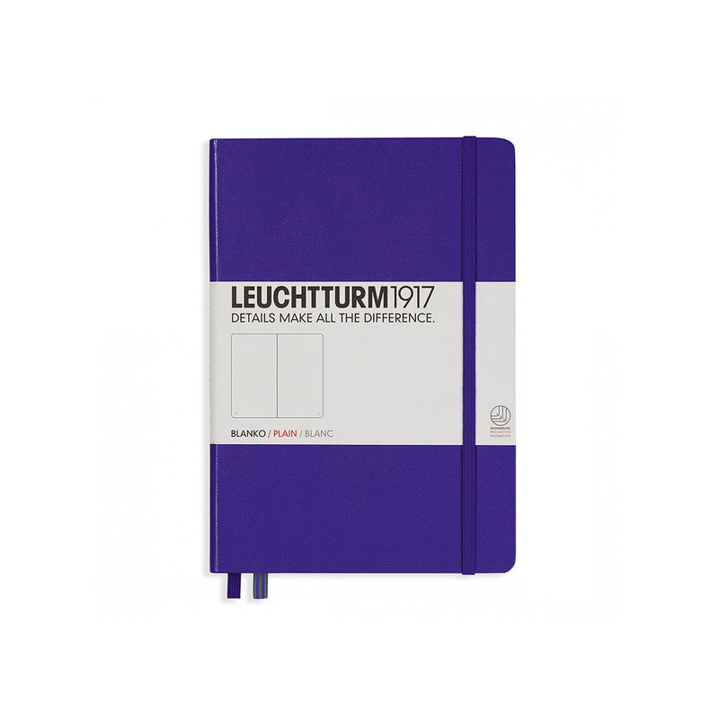 Leuchtturm A5 Hard Cover Plain Purple