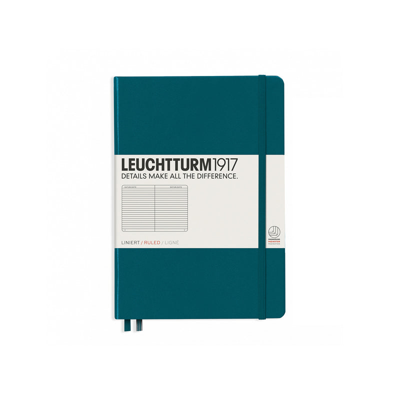 Medium A5 Hard Cover Ruled Notebook