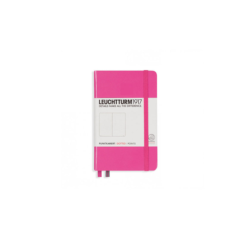 Leuchtturm A6 Hard Cover Dotted Pink