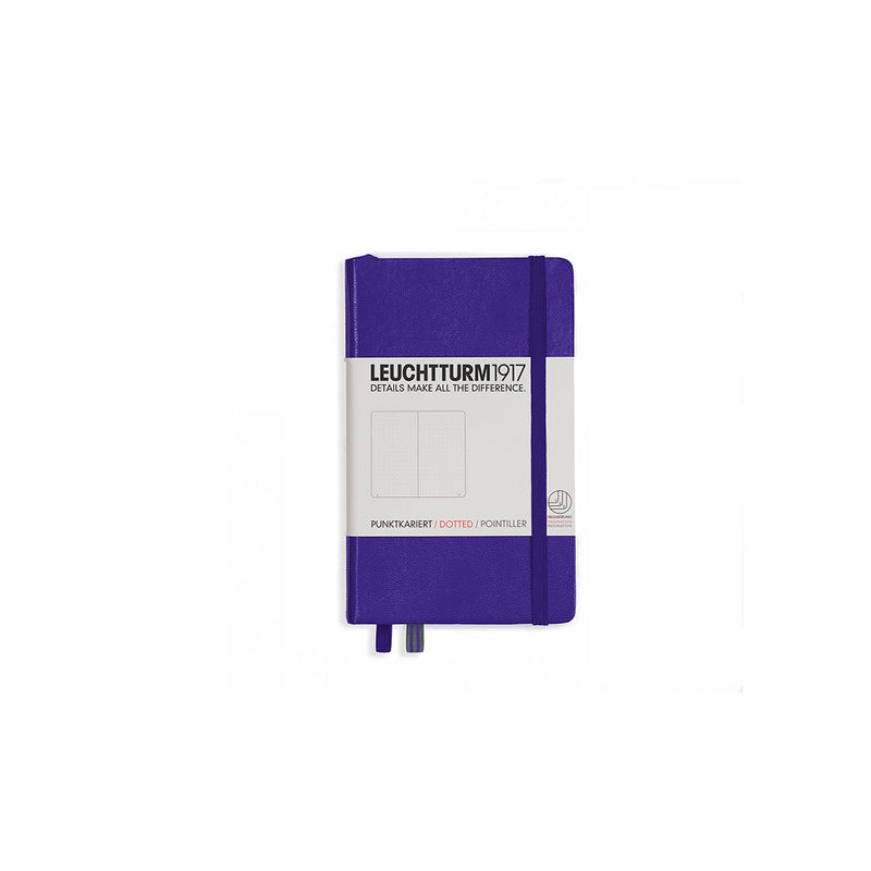 Leuchtturm A6 Hard Cover Dotted Purple