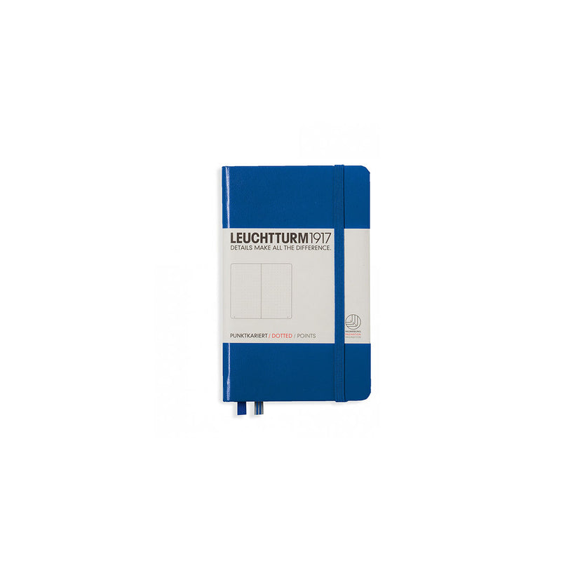 Leuchtturm A6 Hard Cover Dotted Royal Blue