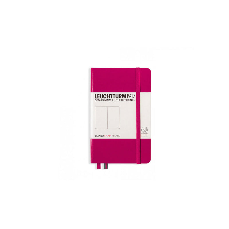 Leuchtturm A6 Hard Cover Plain Berry