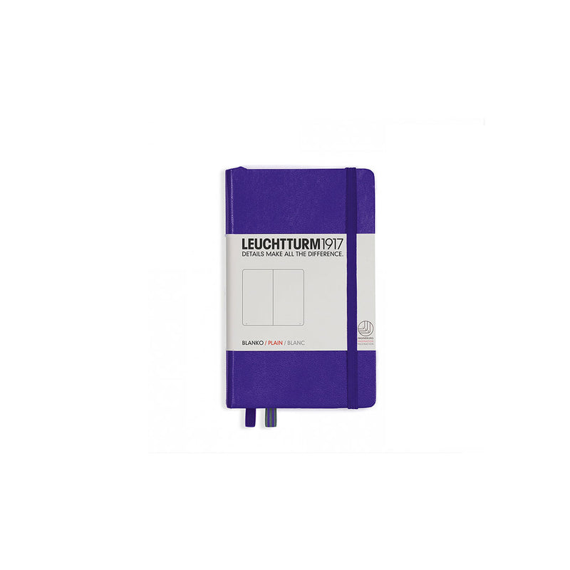 Leuchtturm A6 Hard Cover Plain Purple