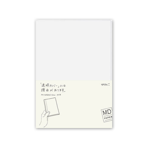 Midori MD Notebook Cover A5 - Clear Vinyl