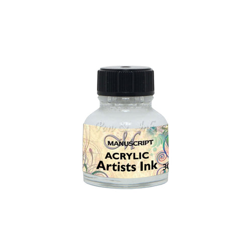 Manuscript Acrylic Artists White Ink