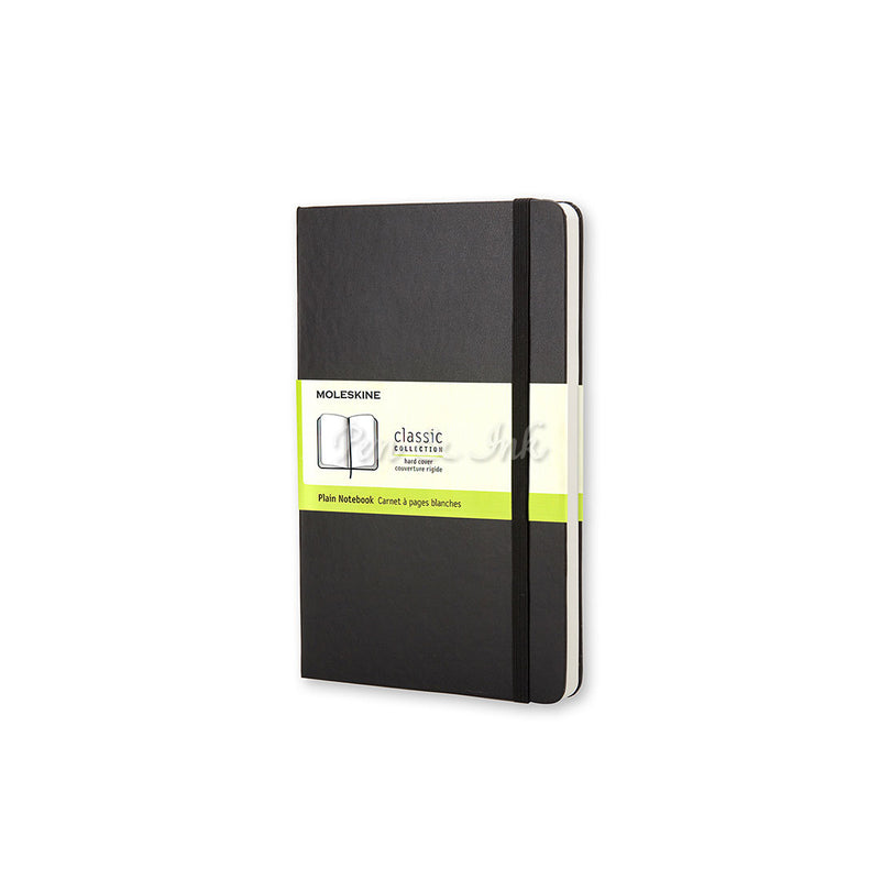 Moleskine Classic Hard Cover Pocket Plain Black Notebook