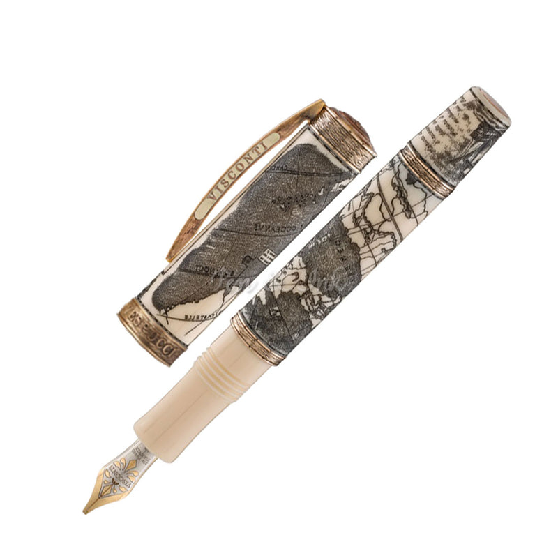Visconti Amerigo Vespucci Bronze Limited Edition Fountain Pen