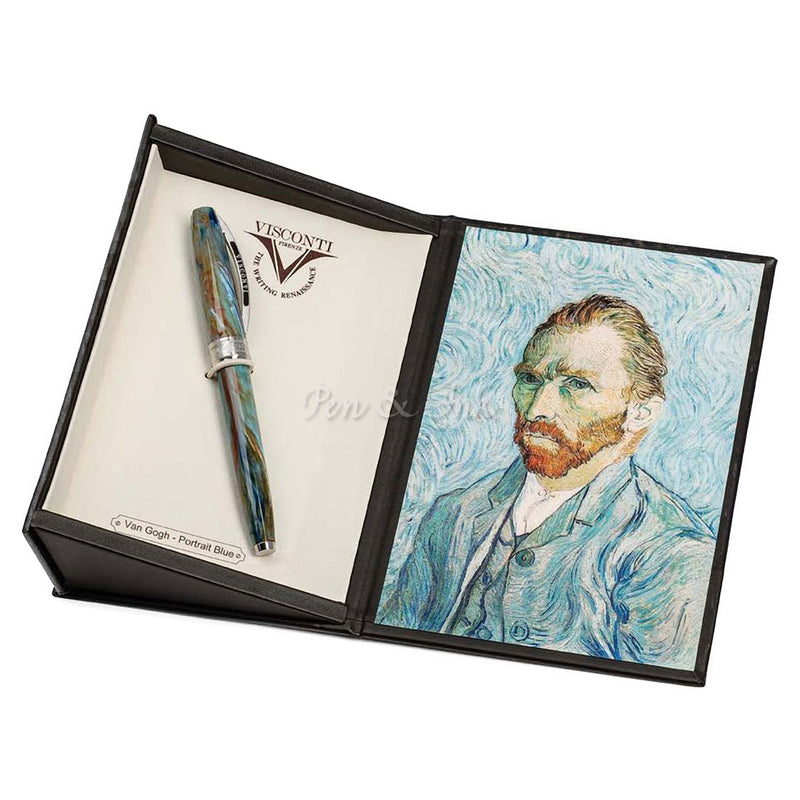 Visconti Van Gogh Collection Portrait Blue Rollerball Pen