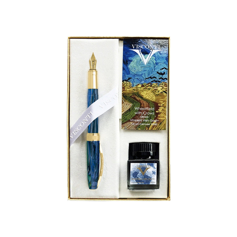 Visconti Van Gogh Collection Wheatfield With Crows Fountain Pen Gift Set