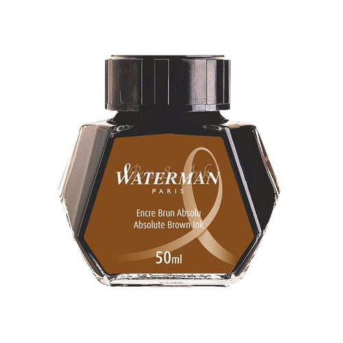 Waterman Bottled Ink Absolute Brown