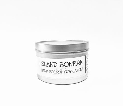 Island Bonfire 8oz Tin