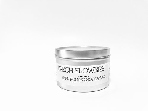 Fresh Flowers 8oz Tin