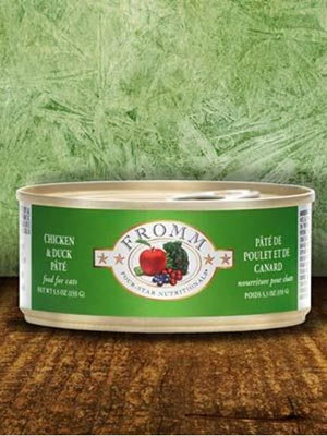 Fromm 5.5oz Chicken/Duck Pate Cat Canned Food