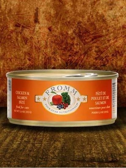 Fromm 5.5oz Chicken/Salmon Pate Cat Caned Food