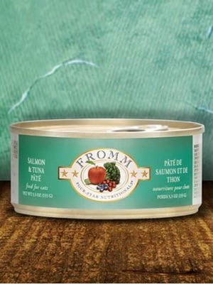 Fromm 5.5oz Salmon/Tuna Pate Cat Canned Food