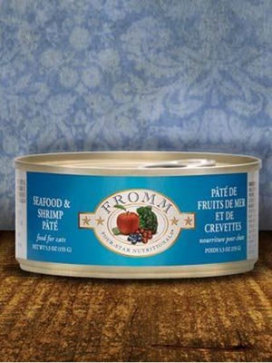 Fromm 5.5oz Seafood/Shrimp Pate Cat Canned Food