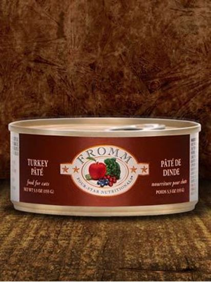 Fromm 5.5oz Turkey Pate Cat Canned Food