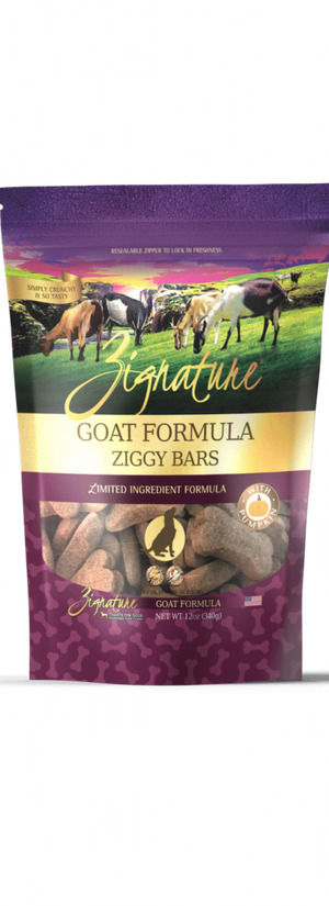 Zignature Goat Formula Ziggy Bars