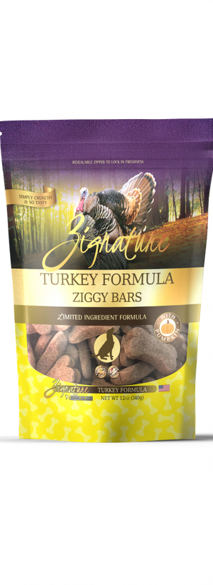 Zignature Turkey Formula Ziggy Bars