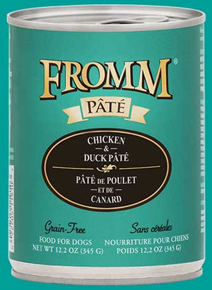 Fromm Gold Chicken and Duck Pate Dog 12.2 oz can