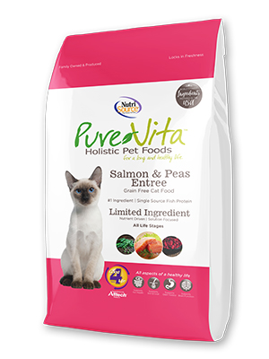 Pure Vita Salmon and Peas Cat Food