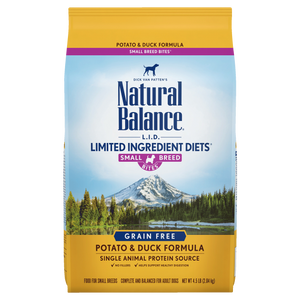 Natural Balance Small Bites Dog Formulas
