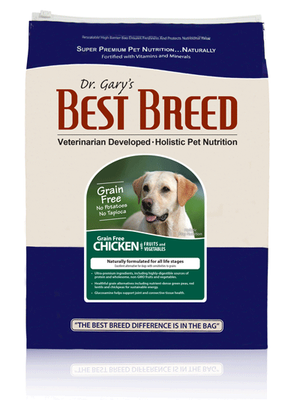Best Breed Grain Free Chicken Dog Food