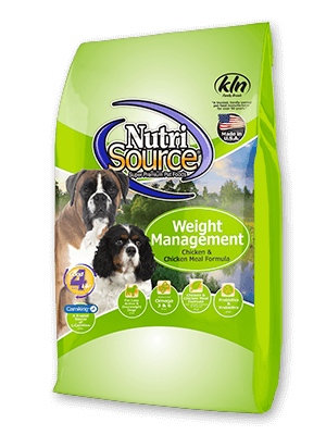 NutriSource Weight Management Dog