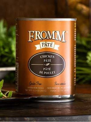 Fromm Gold Chicken Pate Dog can 12.2oz